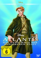 DVD Disney Atlantis