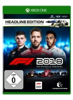 XBoxOne Spiel F1 2018 Headline Edition