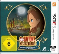 3DS Spiel Laytons Mystery Journey
