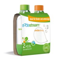 Sodastream PET-Flasche Duo Pack 0,5 L
