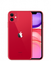 Apple Iphone 11 64 GB rot