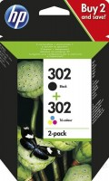 HP 301 Tinte Combo black + colour
