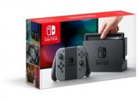 Nintendo Switch Konsole 32GB grau