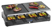Clatronic 2 in 1 Raclette-Grill RG 3518
